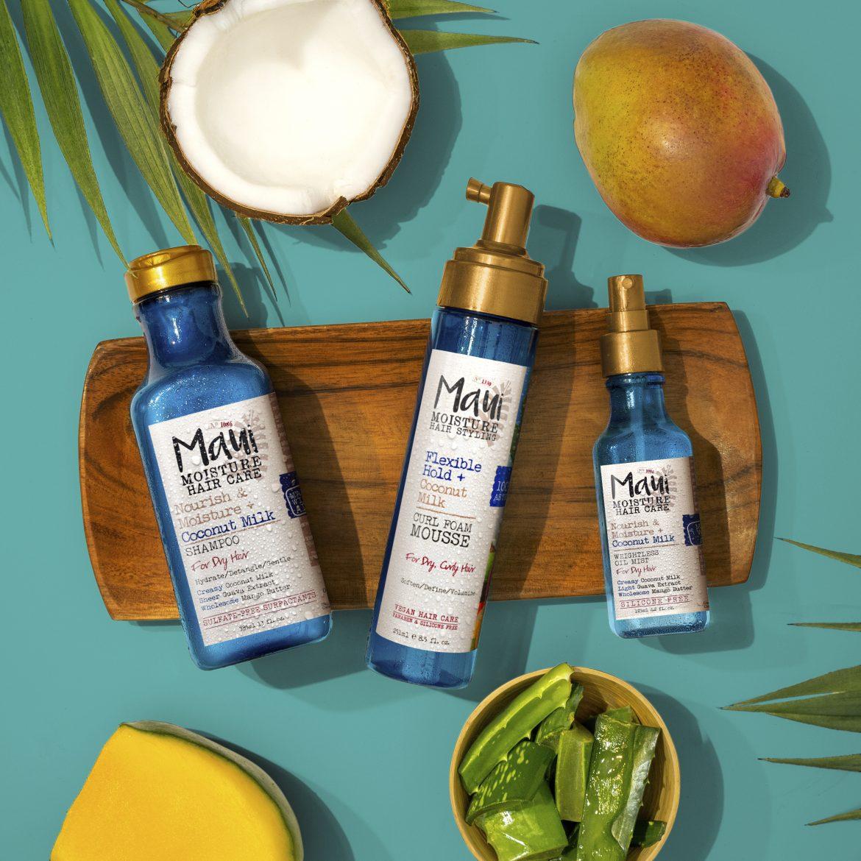 Maui Moisture Hair Care Key Visual