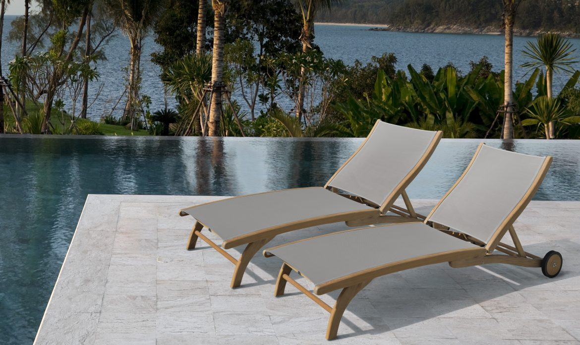 Barco Products Lounge by the Pool